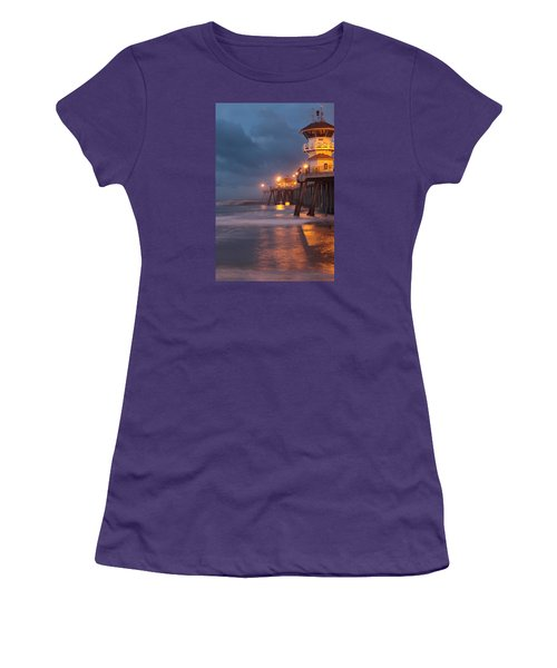 Women's T-Shirt (Junior Cut) featuring the photograph Breaking  Dawn  by Duncan Selby