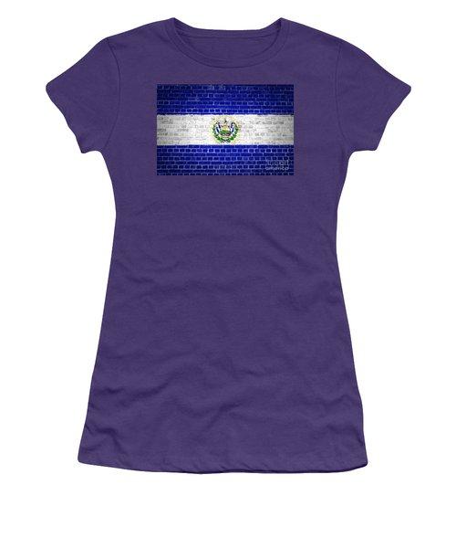 Brick Wall El Salvador Women's T-Shirt (Athletic Fit)