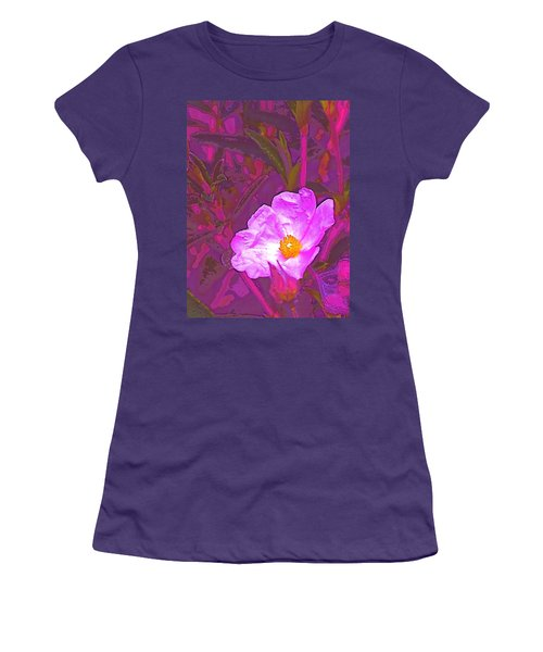 Women's T-Shirt (Junior Cut) featuring the photograph Color 2 by Pamela Cooper