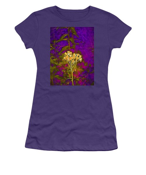 Women's T-Shirt (Junior Cut) featuring the photograph Color 5 by Pamela Cooper