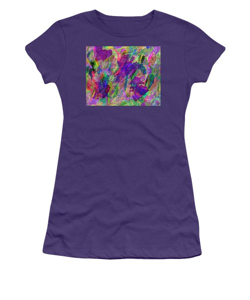 Color Dream Play Women's T-Shirt (Junior Cut) by Penny Lisowski