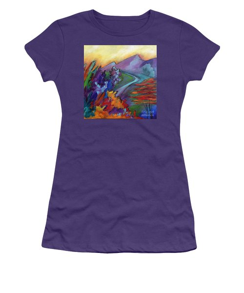 Colordance Women's T-Shirt (Junior Cut) by Elizabeth Fontaine-Barr