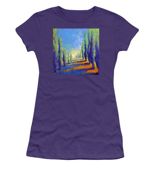 Colors Of Summer 8 Women's T-Shirt (Athletic Fit)