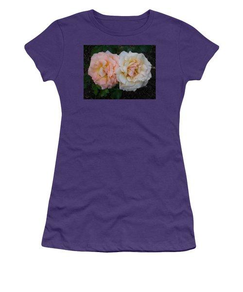Women's T-Shirt (Junior Cut) featuring the photograph Dynamic Duo by Jewel Hengen