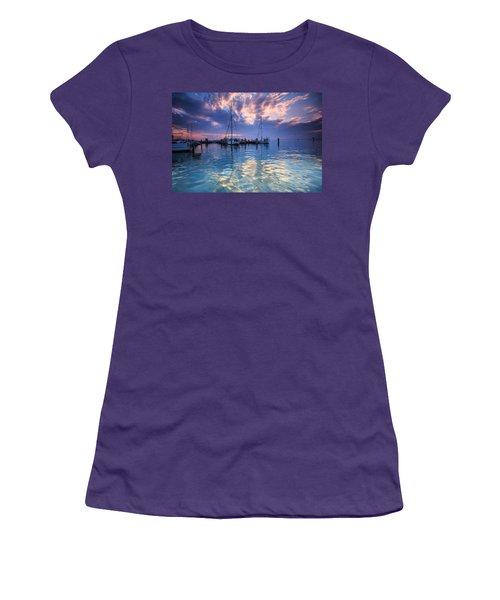 Eastport Sunrise Women's T-Shirt (Junior Cut)