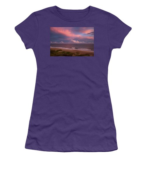 Emerald Isle Sunset Women's T-Shirt (Junior Cut)