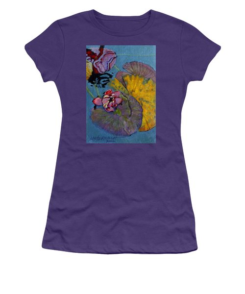 Fall Lily Women's T-Shirt (Athletic Fit)
