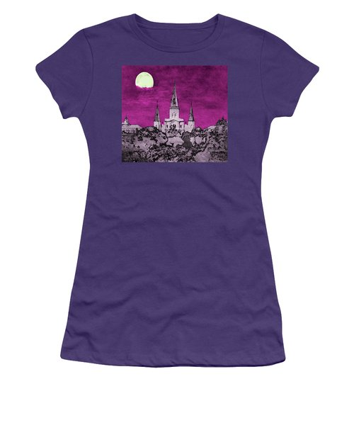 Fat Tuesday Eve Women's T-Shirt (Athletic Fit)