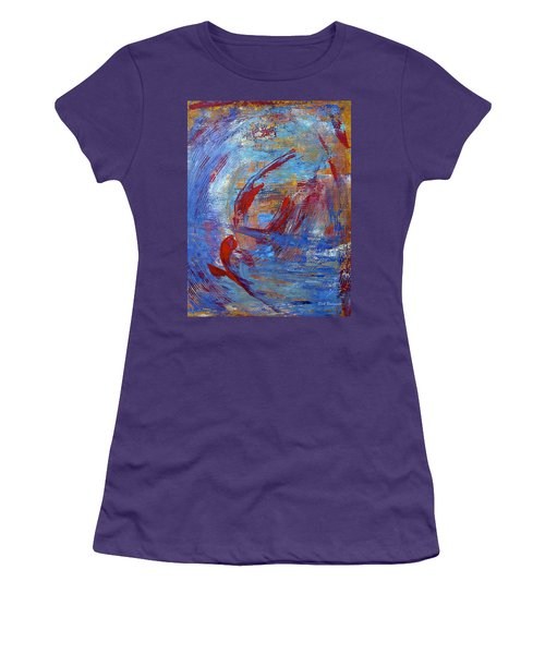 Flight Women's T-Shirt (Junior Cut) by Dick Bourgault