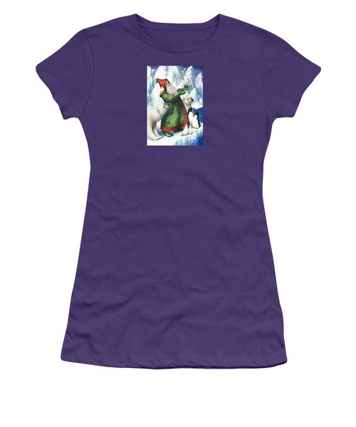 Gift Of Peace Women's T-Shirt (Athletic Fit)