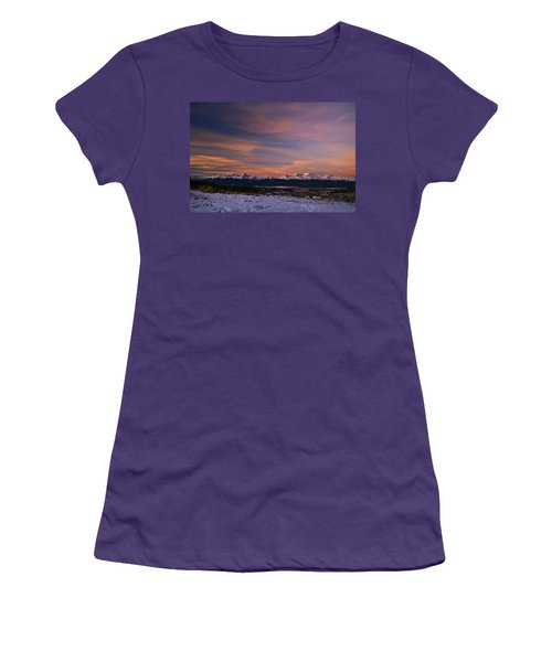 Glow Of Morning Women's T-Shirt (Athletic Fit)