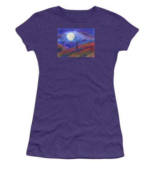 Harvest Moon 3 Women's T-Shirt (Junior Cut) by Jeanne Fischer