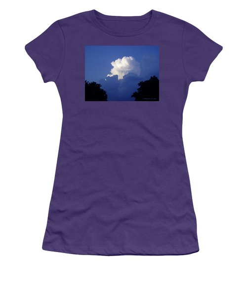High Towering Clouds Women's T-Shirt (Junior Cut) by Verana Stark