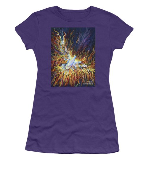 Holy Fire Women's T-Shirt (Athletic Fit)