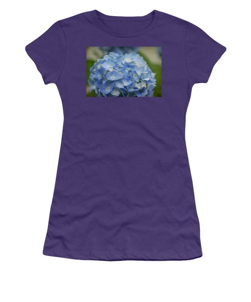 Hydrangea Solitude Women's T-Shirt (Athletic Fit)