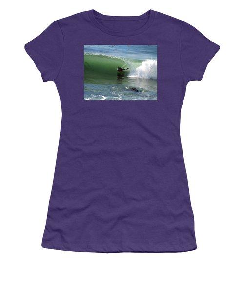 Know What Lies Beneath Women's T-Shirt (Junior Cut) by Joe Schofield