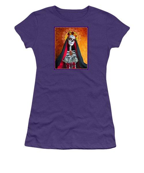 Women's T-Shirt (Junior Cut) featuring the photograph La Muerte by Tammy Wetzel