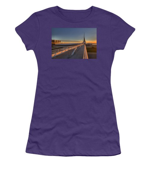 Lake Front View Women's T-Shirt (Athletic Fit)