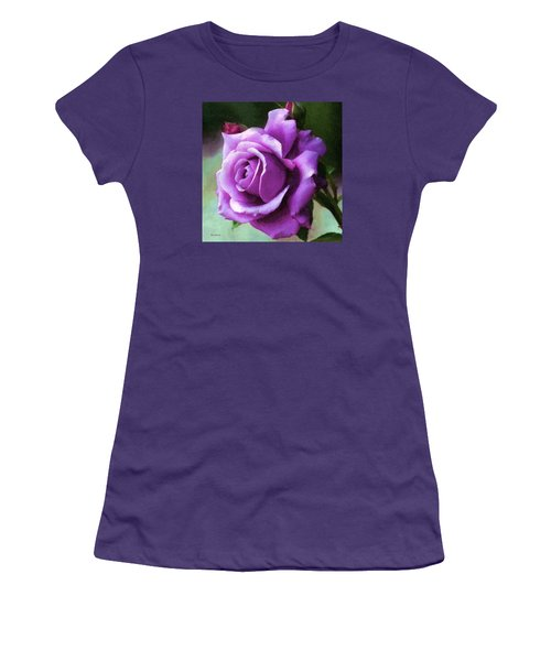 Lavender Lady Women's T-Shirt (Junior Cut) by RC deWinter