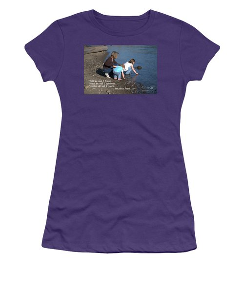 Learning Women's T-Shirt (Athletic Fit)