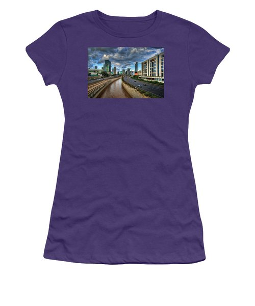 Women's T-Shirt (Athletic Fit) featuring the photograph Life In The Fast Lane by Ronsho