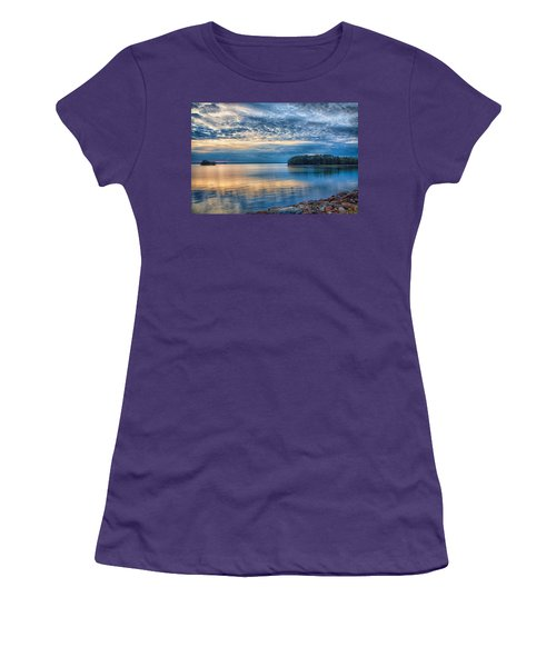 Mackerel Sunset Women's T-Shirt (Athletic Fit)