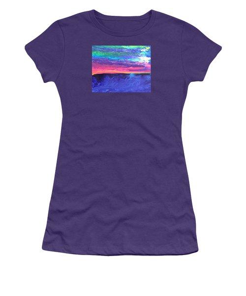 Maui Sunset Women's T-Shirt (Junior Cut) by Ralph White