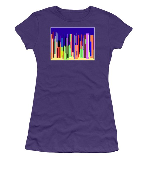Modern Cityscape Women's T-Shirt (Athletic Fit)