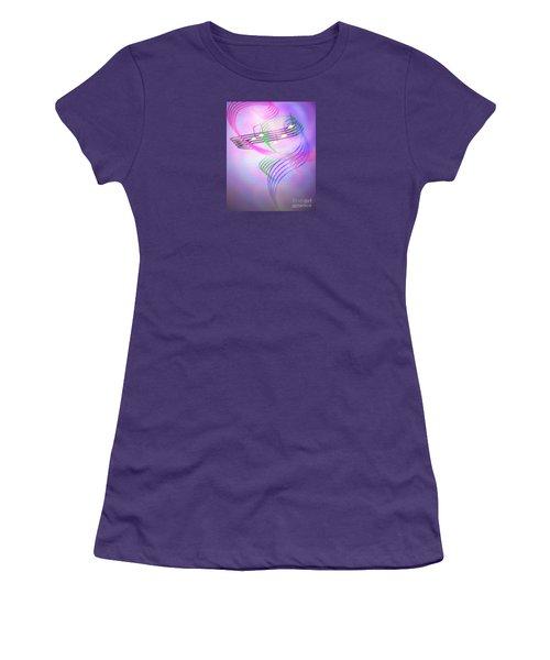 Musical Alchemy Women's T-Shirt (Junior Cut) by Dee Davis