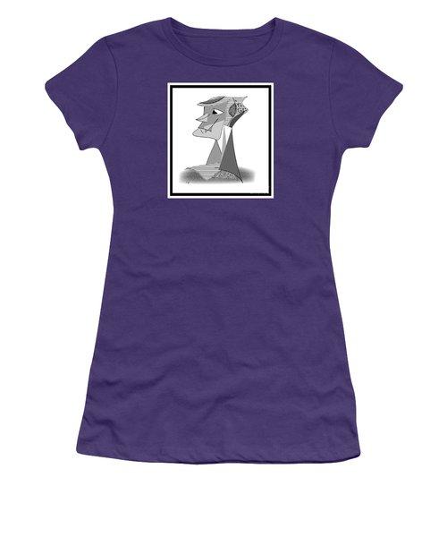 My Picasso Women's T-Shirt (Junior Cut) by Iris Gelbart
