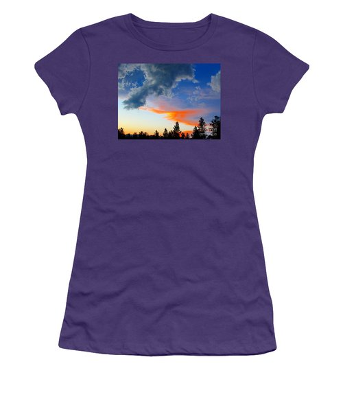 Women's T-Shirt (Junior Cut) featuring the photograph Nature's Palette by Barbara Chichester