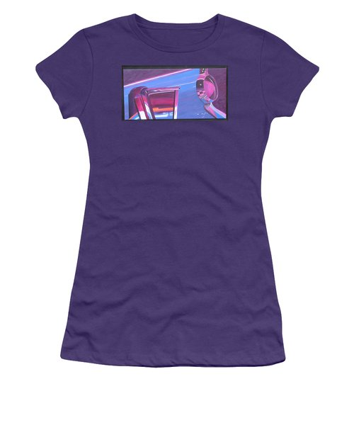 Neon Reflections IIi Women's T-Shirt (Athletic Fit)