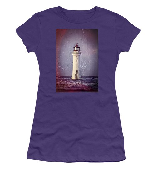 New Brighton Lighthouse Women's T-Shirt (Athletic Fit)