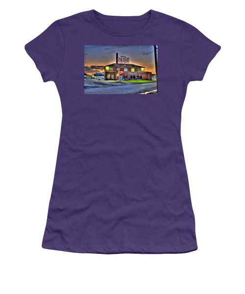 Old Coca Cola Bottling Plant Women's T-Shirt (Athletic Fit)