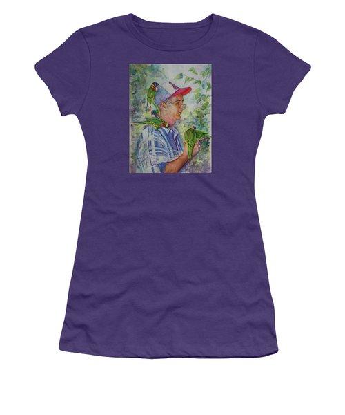 Peekaboo Women's T-Shirt (Athletic Fit)