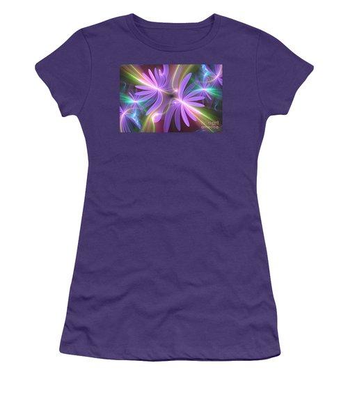 Purple Dream Women's T-Shirt (Athletic Fit)
