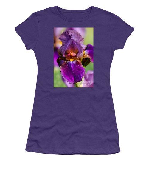 Purple Flag Women's T-Shirt (Athletic Fit)