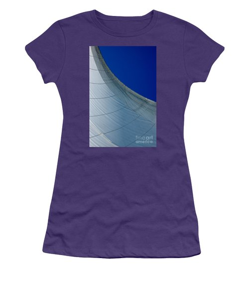 Women's T-Shirt (Athletic Fit) featuring the photograph Sail Away by Christiane Hellner-OBrien