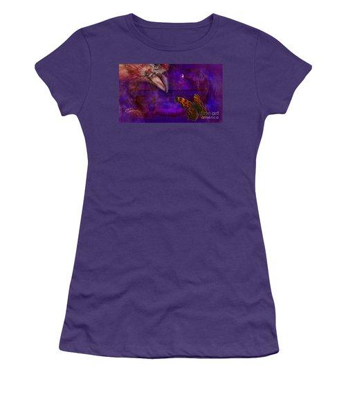 Samsara Women's T-Shirt (Junior Cut) by Joseph Mosley