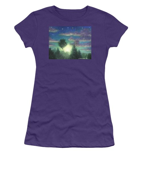 Santee Sunset 03 Women's T-Shirt (Athletic Fit)