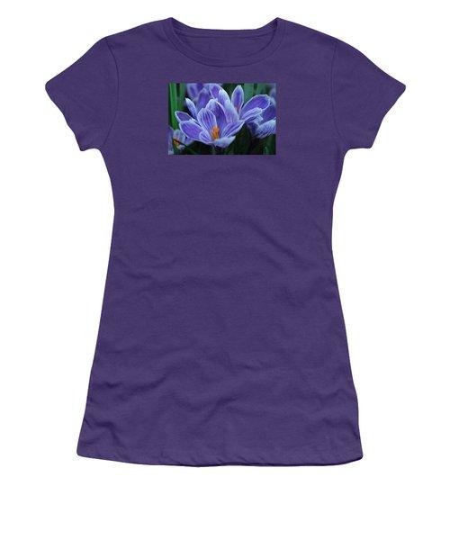 Spring Crocus Women's T-Shirt (Athletic Fit)