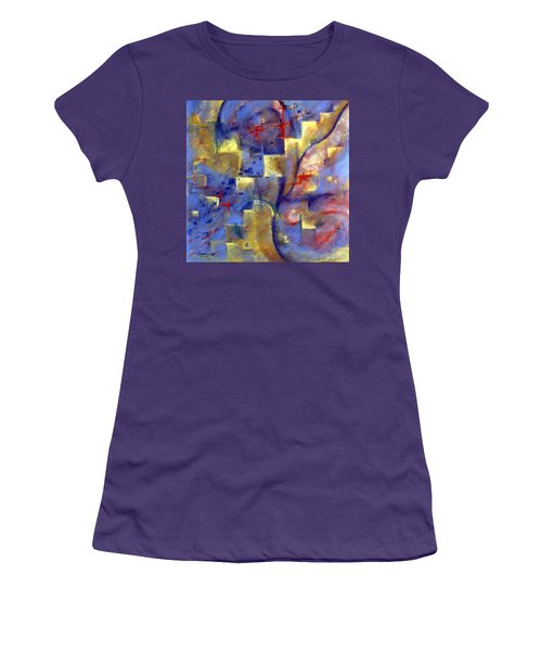 Staircases Women's T-Shirt (Athletic Fit)