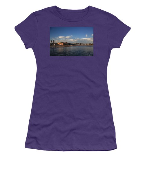 Summer Evenings In Santa Cruz Women's T-Shirt (Athletic Fit)