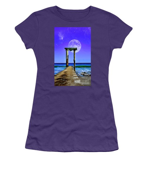 Temple Of The Atlantic Women's T-Shirt (Athletic Fit)