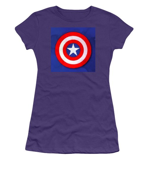 The Captain's Shield Women's T-Shirt (Junior Cut)