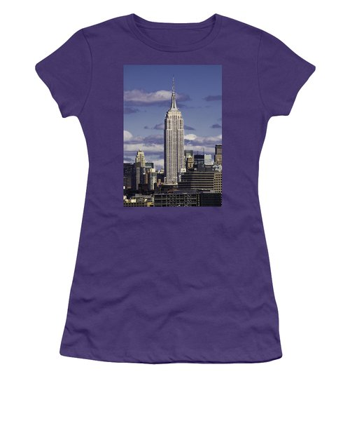The Empire State Building Women's T-Shirt (Athletic Fit)