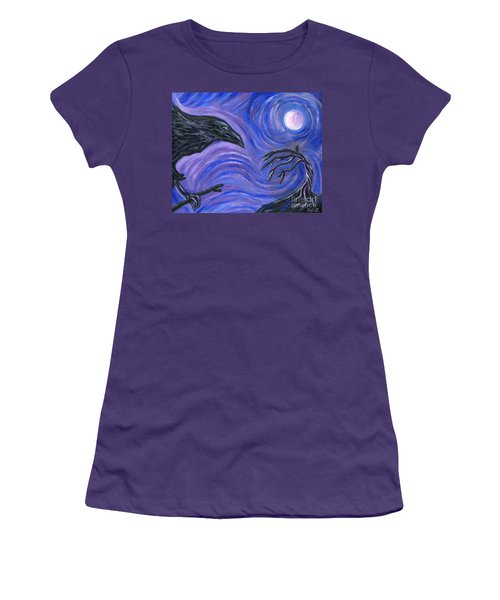 The Raven Women's T-Shirt (Athletic Fit)