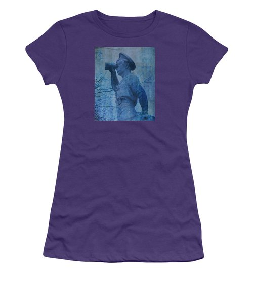 The Seaman In Blue Women's T-Shirt (Athletic Fit)