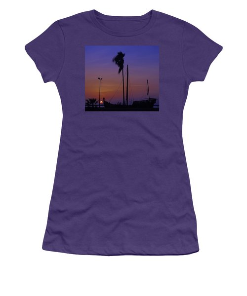 Women's T-Shirt (Junior Cut) featuring the photograph The Ship by Leticia Latocki