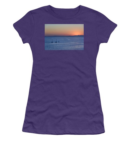 Women's T-Shirt (Athletic Fit) featuring the photograph Three Dreams by Steven Sparks